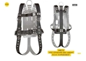 FULL BODY HARNESS WITH ROLLER BUCKLES