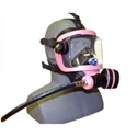 MODEL GRD-BR-A, OTS GUARDIAN FFM, INCLUDES ABV-1, HOSE, AND MASK BAG, BLACK/PINK