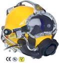 KM DIVE HELMET 47 W/POST