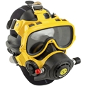 EXO-BR MASK, NO COMMS. dive gear,diving masks,navy approved,full face mask,kirby morgan,underwater communication,ear equalization,exo-br,helmets