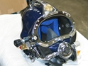 KM DIVE HELMET 37 W/POSTS