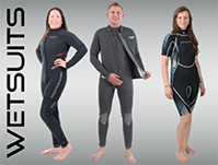 WET SUIT 6.5mm STANDARD STEP-IN - S6026