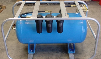 STA-SEA RENTAL ITEM FOR RENT: 60 GALLON VOLUME TANK W/1250 FILTER SYSTEM