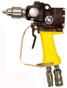 DRILL, OC/CC, UNDERWATER, 1/2 IN. CAPACITY, JACOBS CHUCK, ASSIST HANDLE